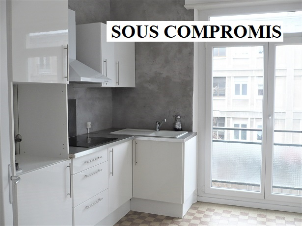 Mulhouse centre : beau 3 pièces 64m²