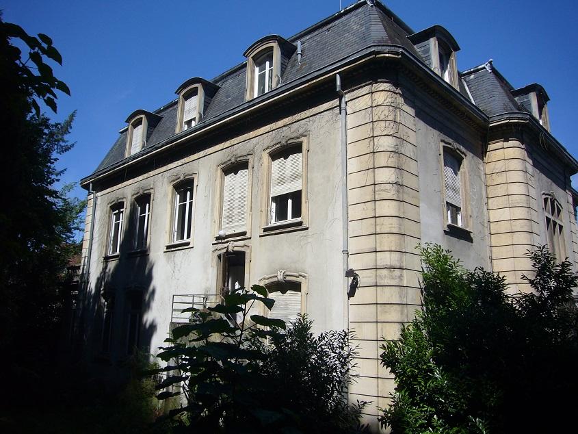 Mulhouse Rebberg : maison de maître 750 m²