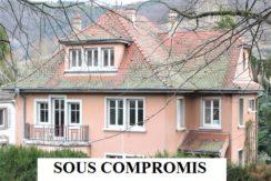 Guebwiller : superbe maison bourgeoise 220m²