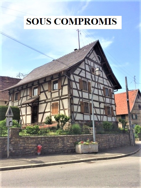 Riespach : Belle maison alsacienne 170m² + 25 ares