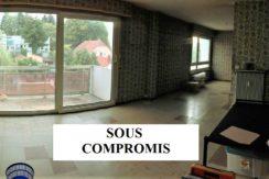 Mulhouse dornach : appartement F5 89m² à rénover
