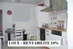 Appartement F3 excellente rentabilité