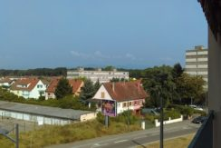 Mulhouse limite Kingersheim : studio 31 m² avec balcon