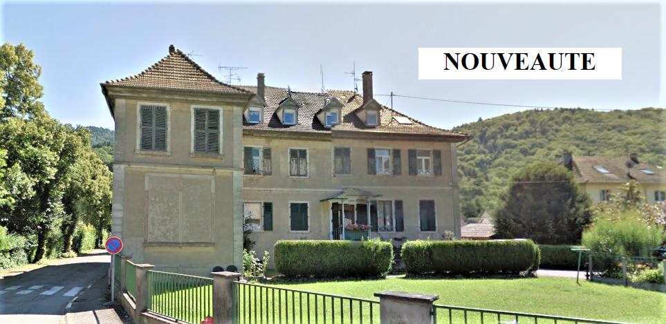 Bitschwiller les Thann : appartement F3 75m² à rénover