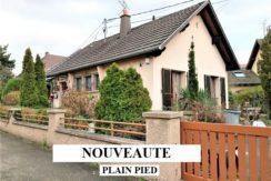 Pfastatt : maison plain pied 105m²