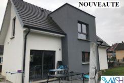 Bruebach : Maison contemporaine 160m²