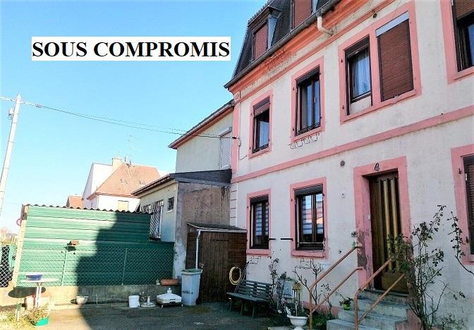 Mulhouse : maison de ville triplex 115m²