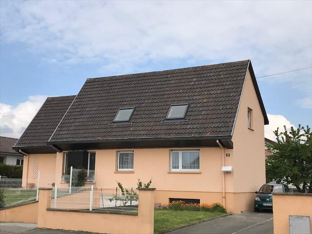 Staffelfelden : Grande maison 190 m² + 8,5 ares+ 3 garages