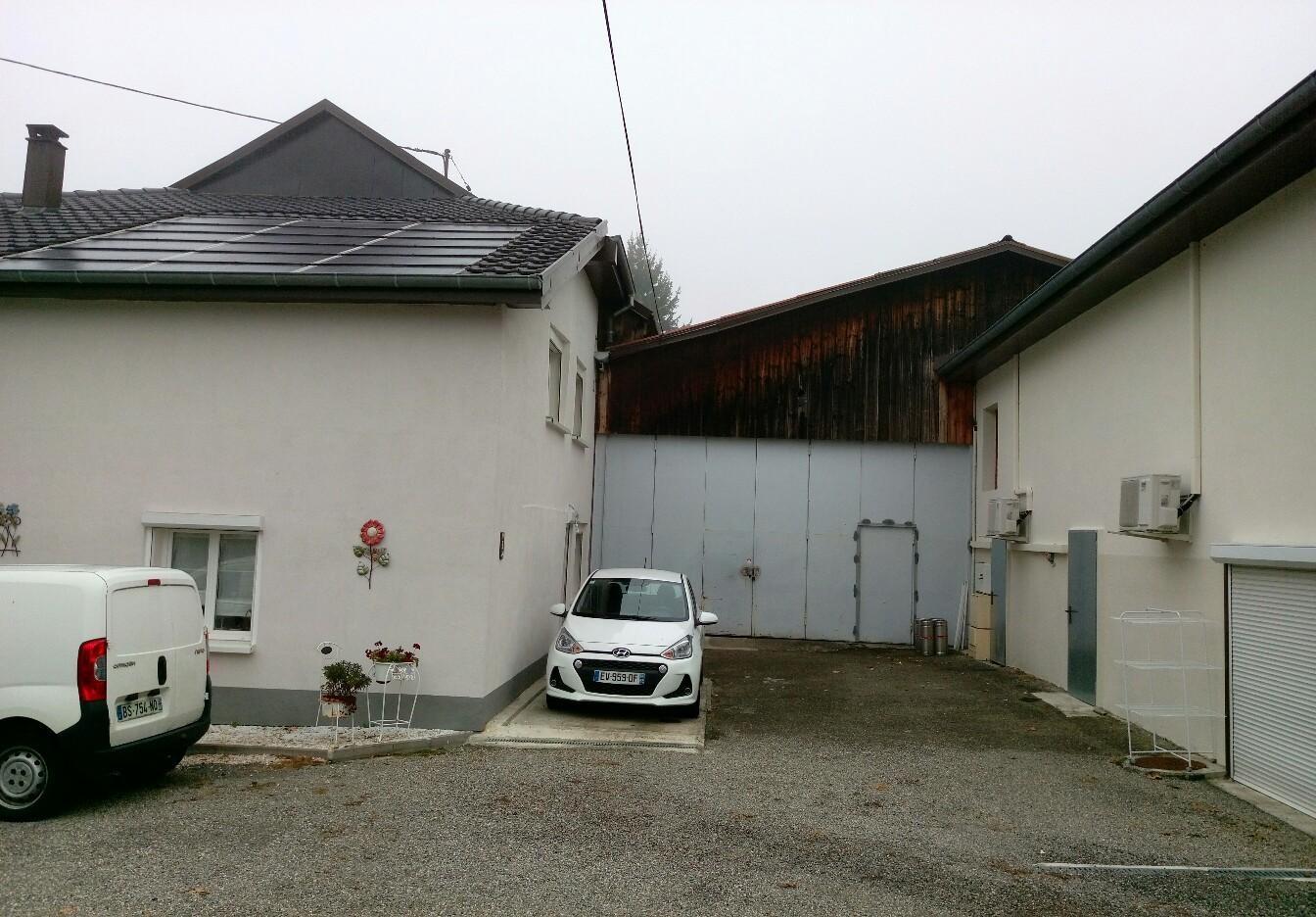 Heimsbrunn : maison + grange – gros potentiel