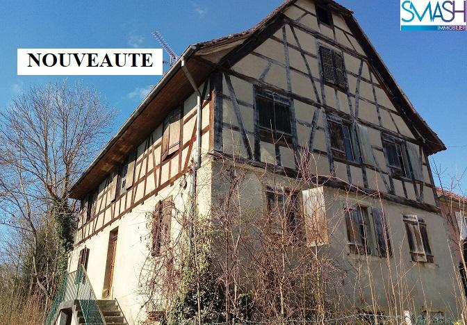 Rantzwiller : Maison à rénover totalement + 17 ares