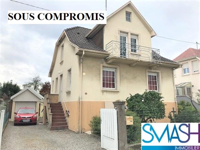 Vieux Thann : maison F5+ jardin+ garage