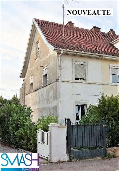 Mulhouse Dornach : petite maison avec cours