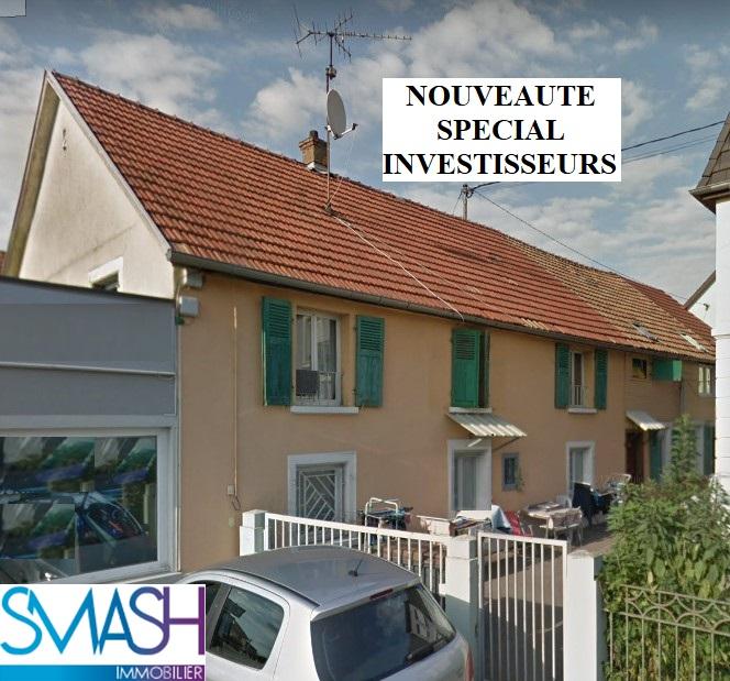 Pfastatt centre : ensemble immobilier 4 logements