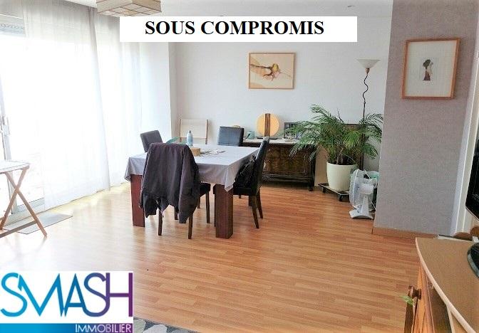 Mulhouse centre : 2/3 pièces dernier étage