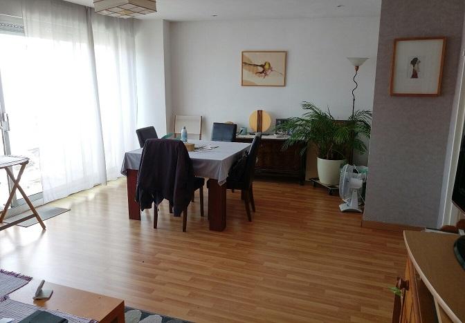 Mulhouse centre : 3 pièces dernier étage
