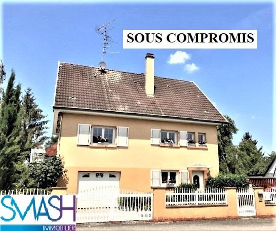 Morschwiller Maison F5 + garage+piscine+jardin
