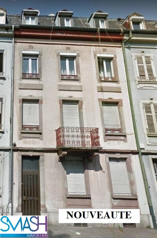 Mulhouse : immeuble 200 m²