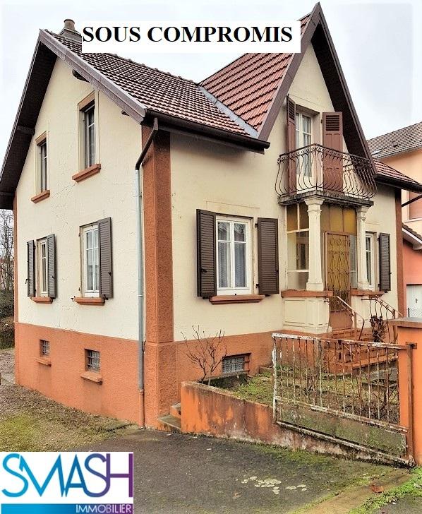 – Sochaux : Maison 108 m²à rafraîchir – STOP AFFAIRE !