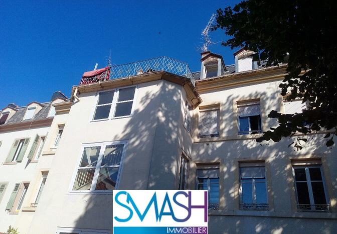 Mulhouse  : appartement 130m²+ terrasse + parking + combles