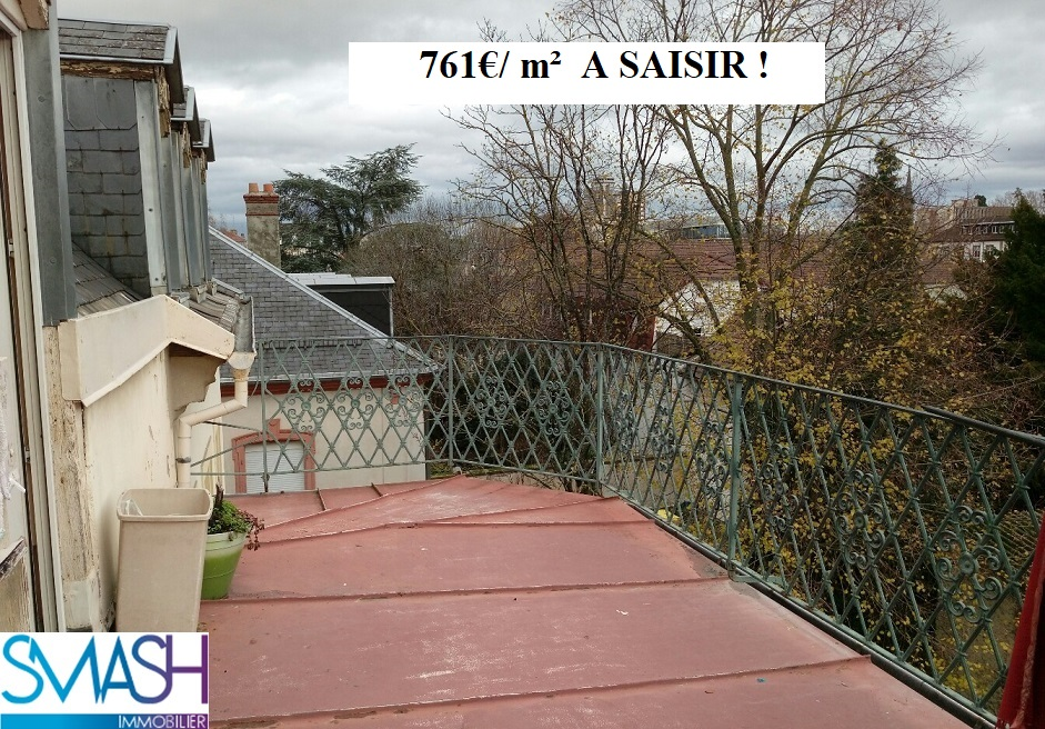 Mulhouse Franklin : appartement 130m²+ terrasse + parking + combles