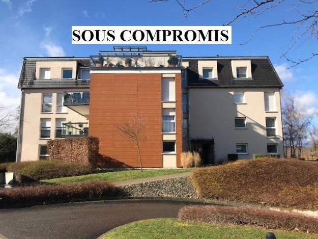 Illzach : appartement 3 pièces rez de jardin- résidence de standing