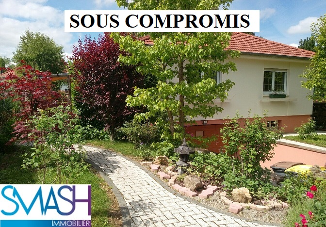 Mulhouse : maison plain pied 120 m² – état impeccable