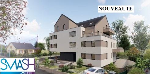 Rosenau : Appartement neuf – F5- 149m² en attique