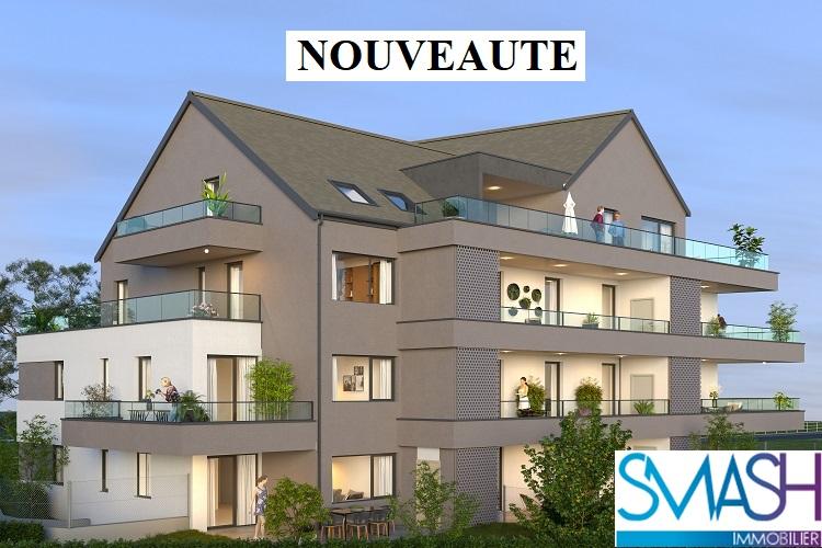 Rosenau : Appartement F3 neuf avec terrasse