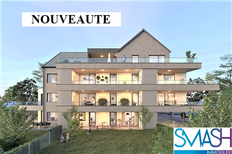 Rosenau : Appartement neuf  F4 81m²  – rez de jardin