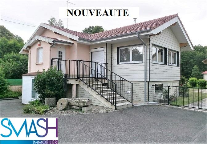 Auxelles- bas : Maison plain pied 125m² + garage+jardin