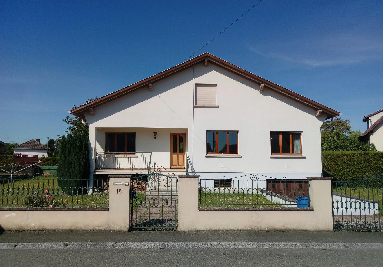 Wiitenheim : Beau plain pied 110 m²   avec 8.7 ares