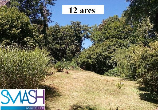 Buhl : beau terrain rectangle 12 ares