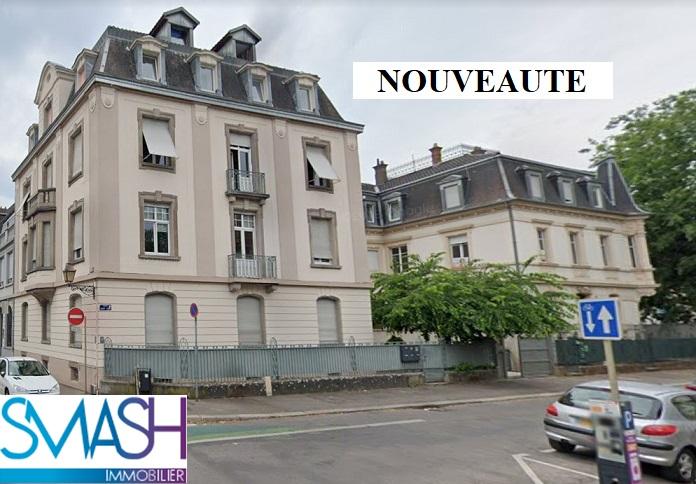 Mulhouse centre: spécial investisseurs : 3 pièces loué