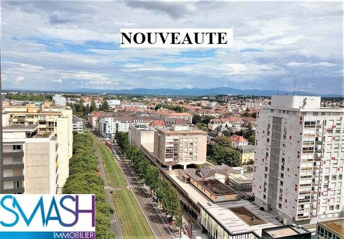 Mulhouse 14 ème étage de la tour  : 107 m² à rafraichir