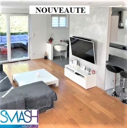 Mulhouse Dornach : Appartement 79m² en rez de jardin