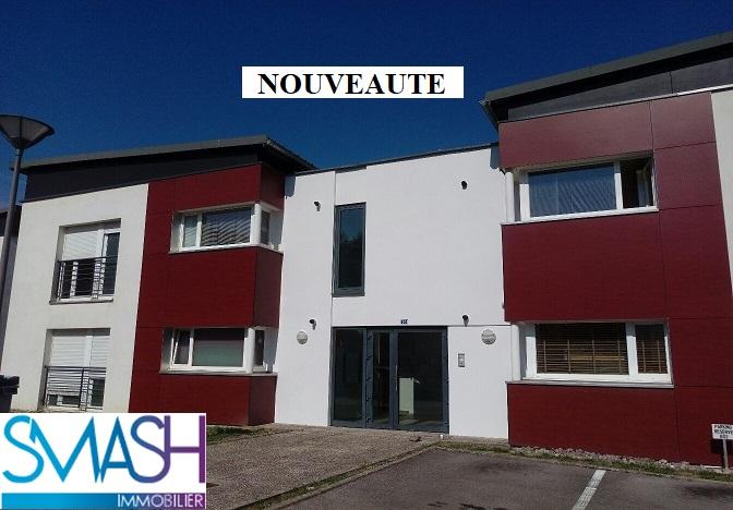 Epinal : bel appartement F5 traversant + terrasse+ parkings