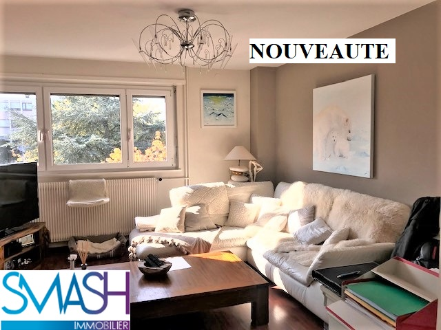 Kingersheim : Bel appartement  de 91m² – F4 rénové + garage
