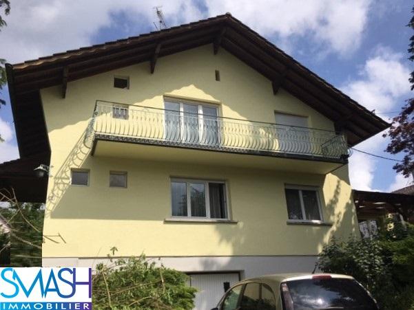 Steinsoultz : Maison bi famille 185m² – jardin – garage
