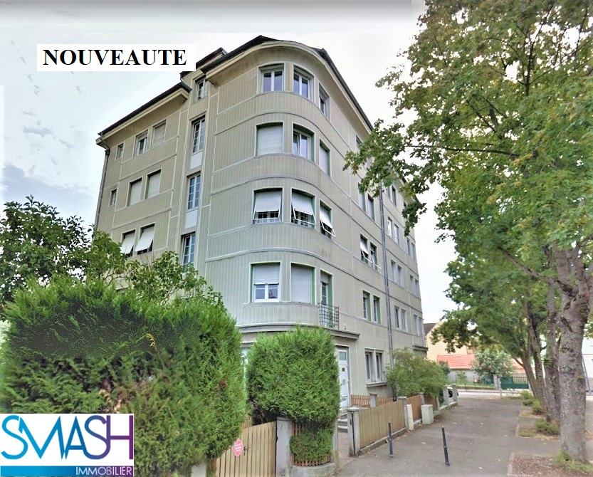 Mulhouse : Lumineux appartement F4/5 115 m² + garage