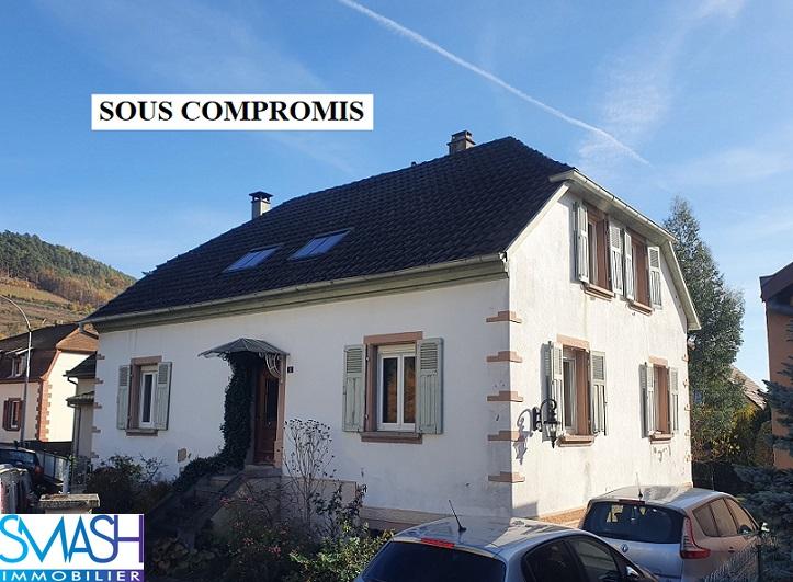 Buhl : charmante maison 160m² – 6 pièces- jardin – vue