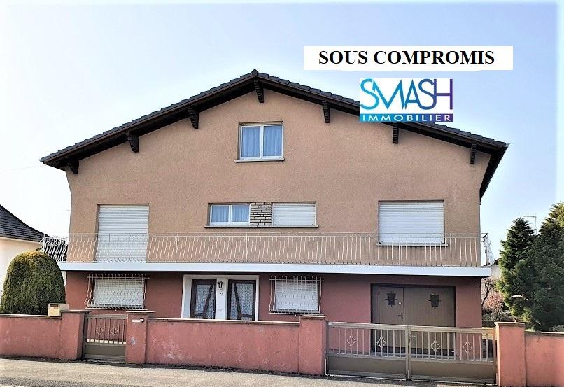 Wittenheim: Maison individuelle 150m² – 6 ares