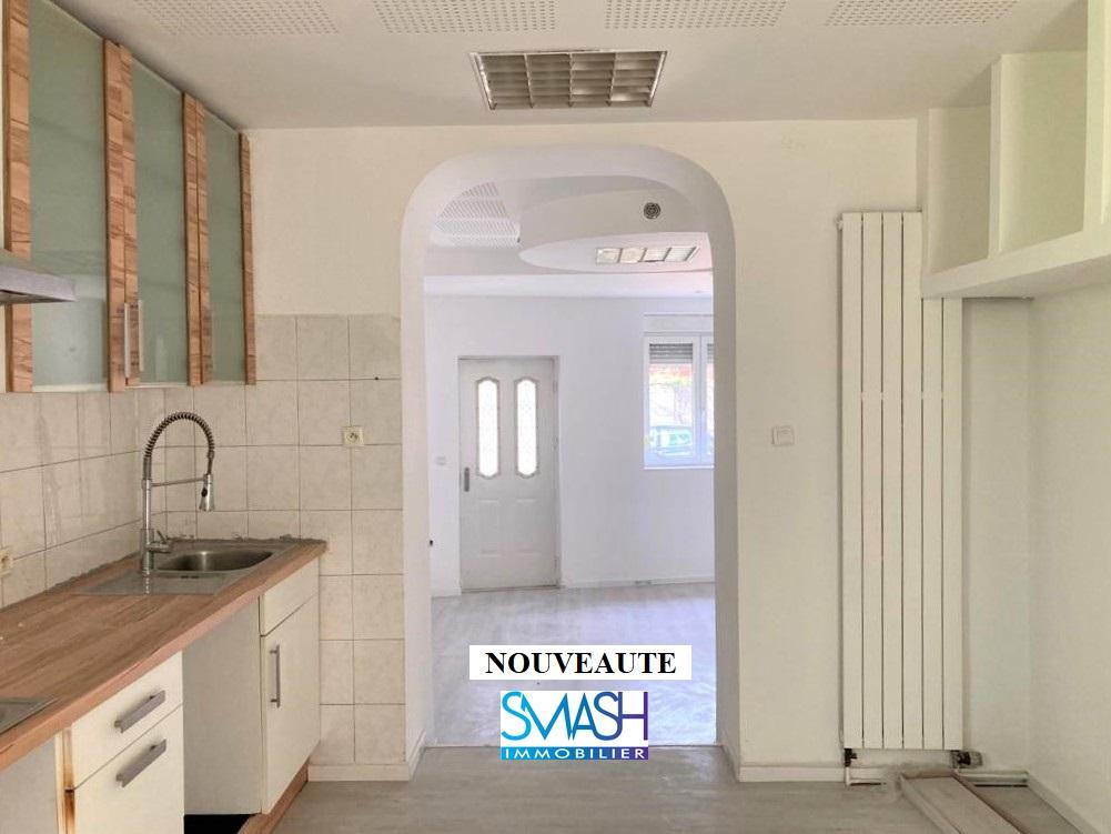 Mulhouse : appartement T3 Rdch 70m²