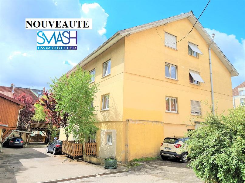 Mulhouse Vieux Dornach : Immeuble bon état – 555m²