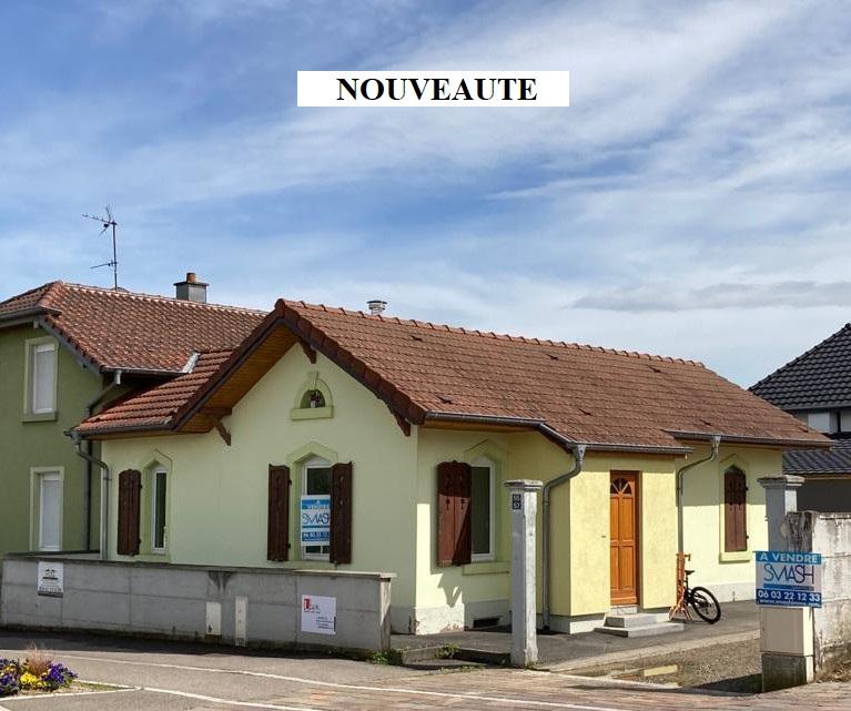 Morschwiller le Bas : Petite maison plain pied  60m²