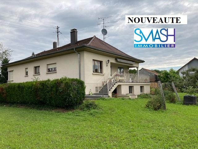 Ensisheim : maison plein pied 115m² – 15.6 ares